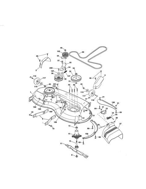 Craftsman 46 Mower Deck Belt Diagram - General Wiring Diagram