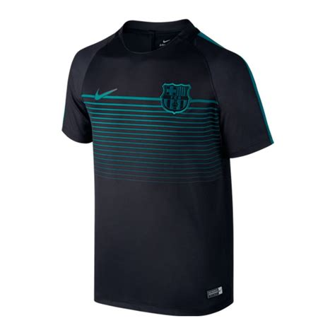 T Shirt Fc Barcelona 1 nike fc barcelona football top t shirt f014 schwarz