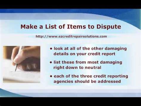 Exles Of Credit Repair Letters credit repair letters anatomy of credit dispute letter