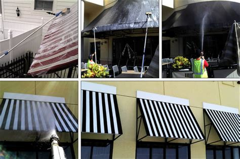 How To Clean Metal Awnings by Awning Cleaning Orlando Fl Canvass Vinyl Metal Awning
