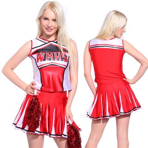 glee clothes skirt high school cheerleading