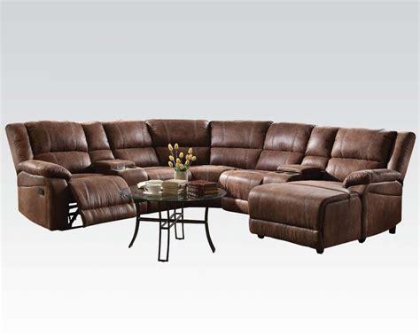 acme furniture sectional sofa zanthe ii ac51445