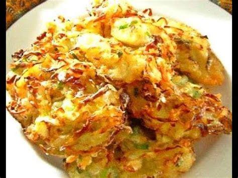 resep bakwan sayur crispy enak  praktis youtube