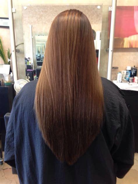 how cut v shaped short haircut long v shaped back hair cut long hairstyles