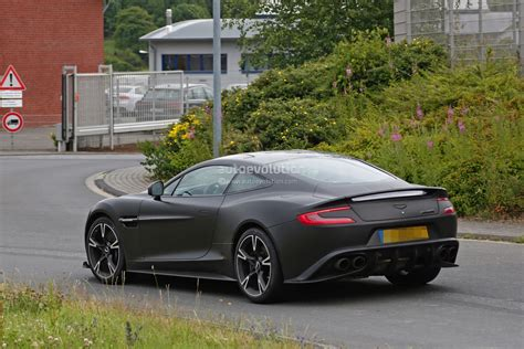 future aston martin 2018 aston martin vanquish s spied for the first time
