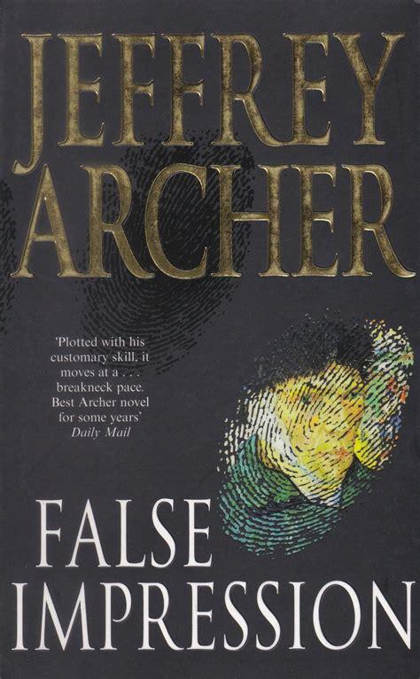 false impression series 1 buy jeffrey archer false impression in india