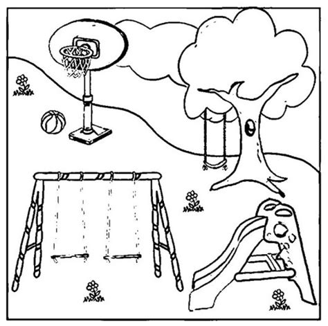 playground coloring pages playground coloring pages coloring pages