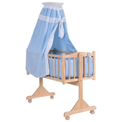 in bed bassinet us home wood baby cradle rocking crib newborn bassinet bed