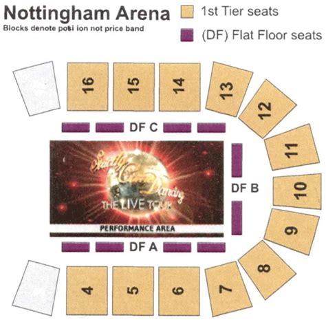 nottingham arena floor plan strictly come dancing the live tour nottingham capital