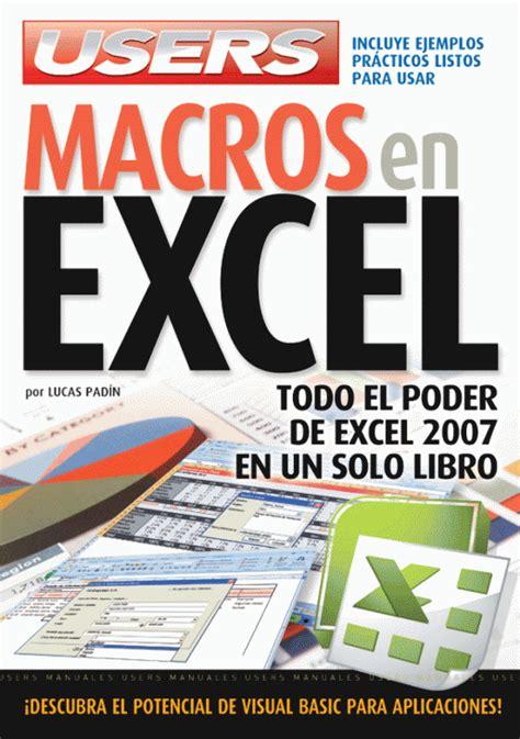 libro all join in red manual de macros en excel 2007 pdf gratis microsoft excel 2003 tutorial pdf ebook youtubeexcel