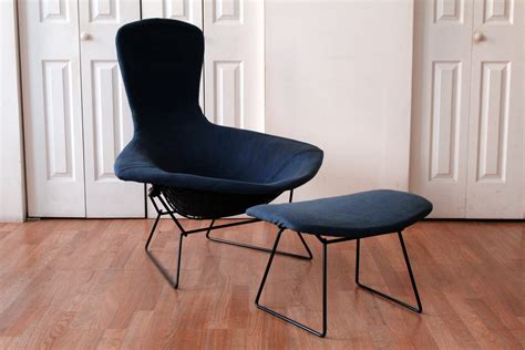 authentic vintage harry bertoia knoll bird chairs
