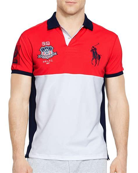 Polo Shirt Sport Lyst Ralph Polo Sport Usa Performance Mesh Polo