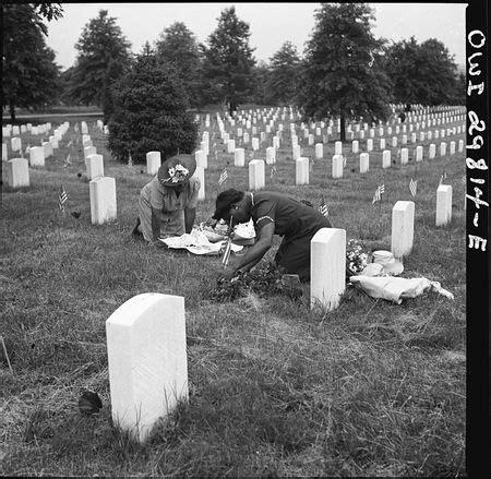 memorial day, 1943: esther bubley, photographer john