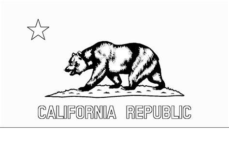 California Flag Coloring Page Az Coloring Pages California Flag Coloring Page