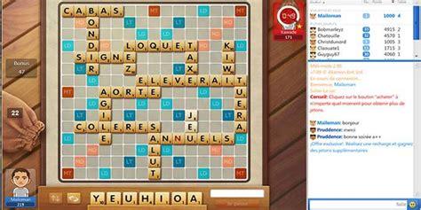 scrabble francais en ligne jeux de scrabble en ligne gratuit