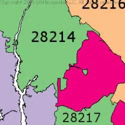 Zip Code Map Of Charlotte Nc by Zip Code Map Charlotte Nc World Map 07