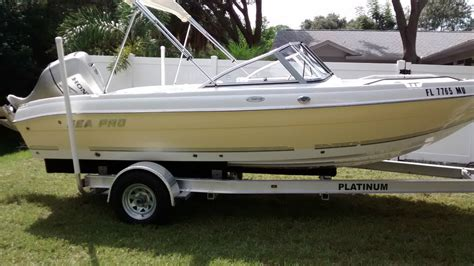 used fish and ski boats for sale near me sea pro 195 fish ski bowrider 2005 for sale for 14 500