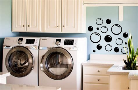 Decorating Laundry Room Walls by Wall Decal For Laundry Room Wall Decor Ideas