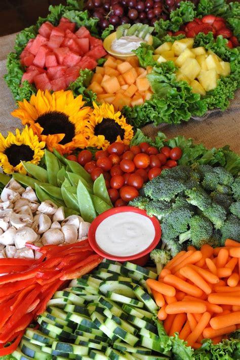 Veggie By Veggie loaded veggie and fruit platters by baggin s gourmet