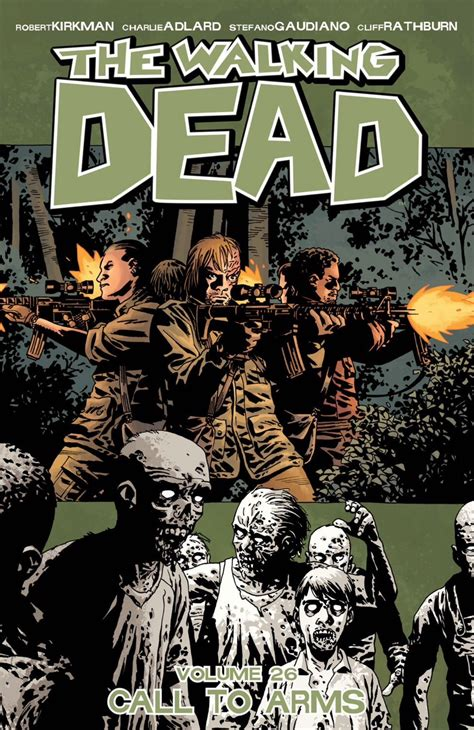 libro the walking dead volume volume 26 call to arms walking dead wiki fandom powered by wikia