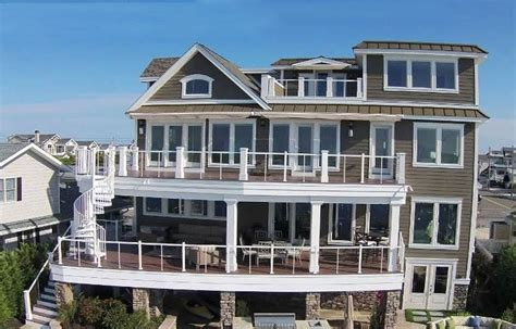 4 Story House | luxury 4 story house design on the waterfront designing idea