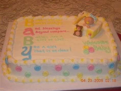 Unknown Gender Baby Shower Cakes by Baby Shower Cakes For Unknown Gender Baby Shower Cake By