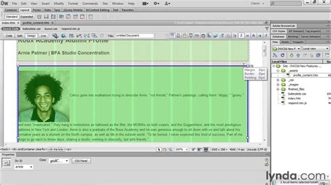 dreamweaver tutorial fluid grid layout fluid grid layouts with dreamweaver cs6 lynda com
