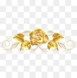 gold rose pattern 8319 golden rose png images vectors and psd files free