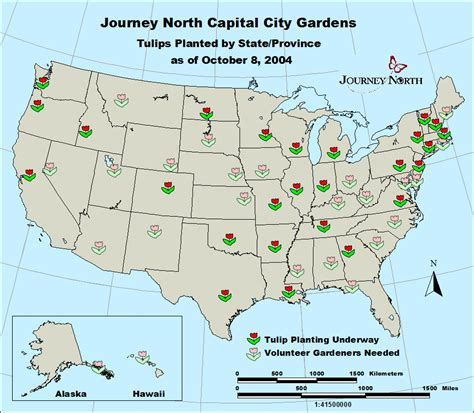 capital usa map journey international plant study fall 2004