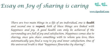 And Caring Essay by Essay On Of Is Caring