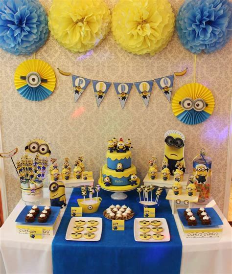 birthday themes minions despicable me minions birthday party ideas birthdays
