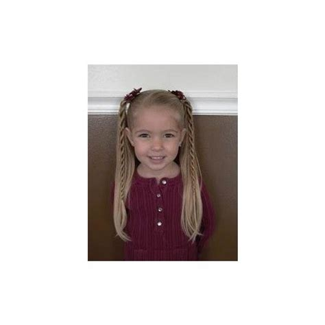 cute hairstyles polyvore 5 super duper cute hairstyles for little girls liked on