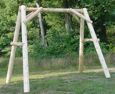 log swing set plans best 25 porch swing frame ideas on pinterest porch