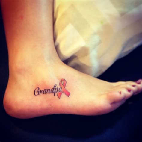 leukemia tattoo 25 best ideas about on