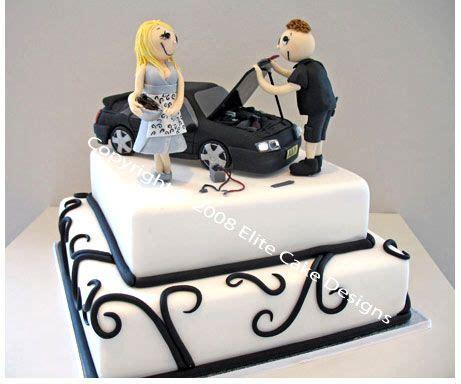 car wedding cake for mechanic novelty cake engagement cakes by elitecakedesigns sydney