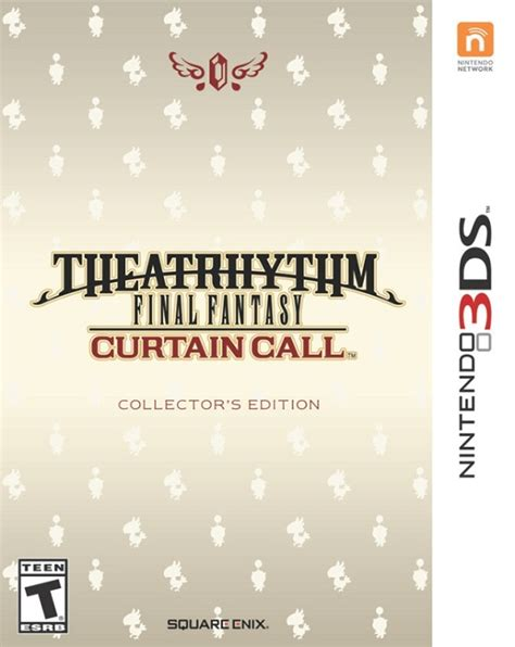 final curtain call theatrhythm final fantasy curtain call collector s edition