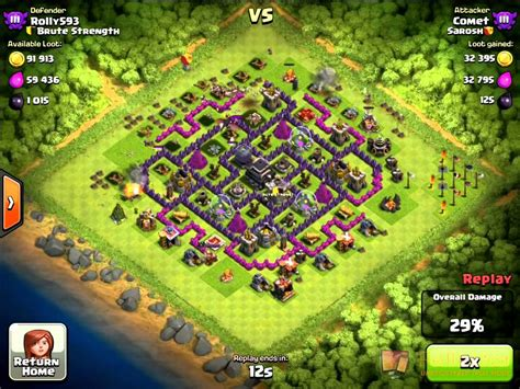 layout coc copy base design screen shot and copy not my design clash