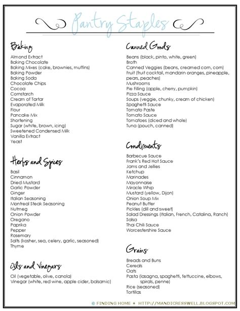 Pantry Basics List by 11 Best Images About Pantry Staples On