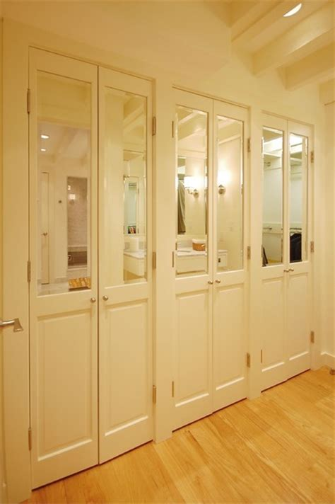 How Much Are Mirrored Closet Doors Boston Condo Eclectic Closet Boston By Leslie Saul Associates