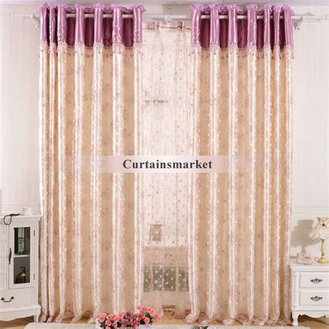 silk sheer curtains country polyester special faux silk sheer curtains