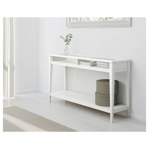 console table liatorp console table white glass 133x37 cm ikea