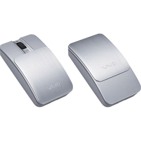 Mouse Sony Vaio Bluetooth sony vaio bluetooth slider mouse silver vgpbms11 s b h photo