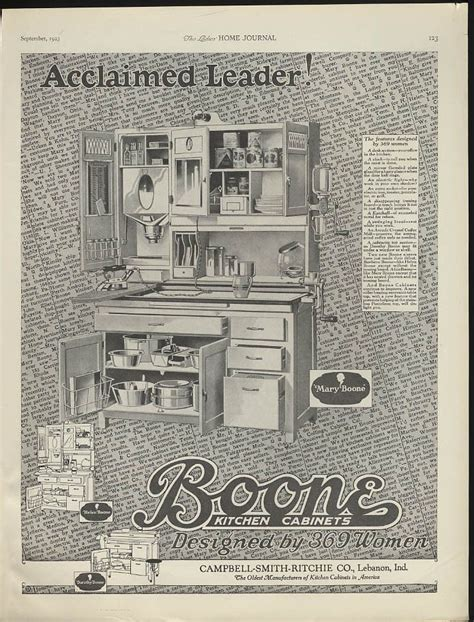 kitchen cabinet advertisement 17 best images about boone hoosier cabinets on pinterest
