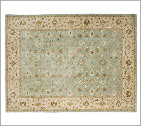 New Pottery Barn Handmade Persian Malika Area Rug 9x12 Pottery Barn Area Rugs