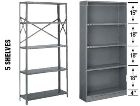 tri boro economy steel shelving