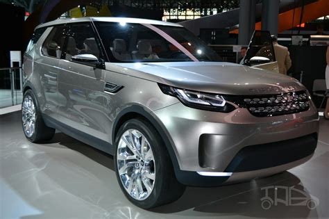 new land rover discovery land rover discovery vision concept new york liev