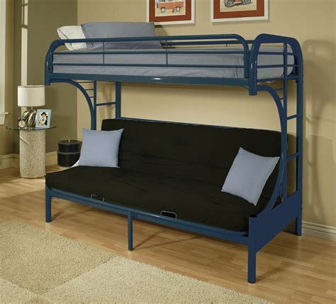 Loft Bed With Futon Picture Metal Futon Bunk Bed Roof Fence Futons Metal Futon Bunk Bed