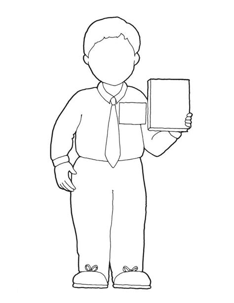 coloring page lds missionary boy missionary clip art primary pinterest clip art
