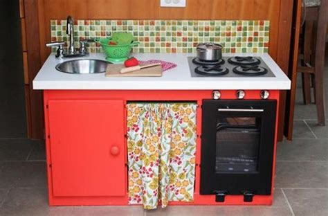 play kitchen ideas 25 ideas recycling furniture for diy kids play kitchen designs