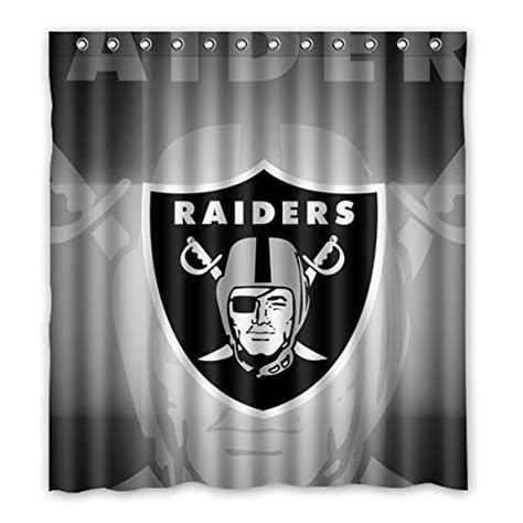 raiders bathroom set oakland raiders shower curtain raiders shower curtain